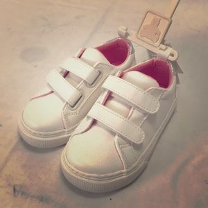 Toddler girl white shoes size 7